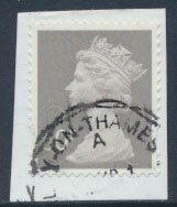 Great Britain SG U2911 Sc# MH365 Used 50p Security Machin no source no date c...