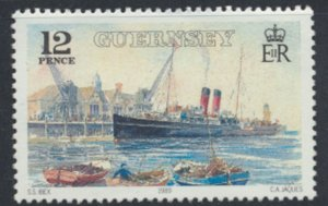 Guernsey Channel Islands SG 463 Used GWR Railway Steamer 1989 SC# 411 See scan