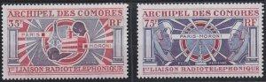 Comoro Islands C42-C43 MNH (1972)