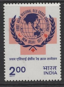 INDIA SG841 1977 1st ASIAN REGIONAL RED CROSS CONFERENCE MNH