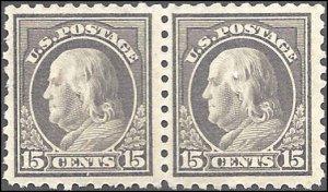 437 Mint,OG,NH... Pair... SCV $550.00