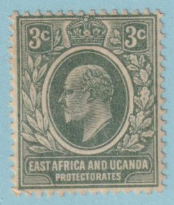 EAST AFRICA AND UGANDA PROTECTORATE 32  MINT HINGED OG - NO FAULTS VERY FINE!