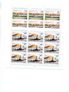 Yugoslavia 1979   mini sheets . Mint   VF NH
