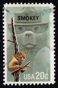 US #2096 Smokey the Bear; Used (0.25)