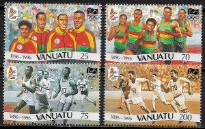 Vanuatu #684-7 MNH Set - Modern Olympic Games - Sports