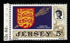 1969, Jersey, 5d, MNH, ** (T-9820)