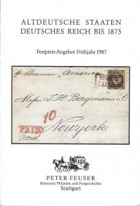 Feuser:    Altdeutsche Staaten Deutsches Reich bis 1875, ...