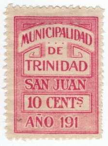 (I.B) Paraguay Revenue : Local Tax 10c (Municipalidad de Trinidad)