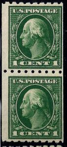 U.S. 410 FVF MNH PAIR SCV$32.50 (410-9)