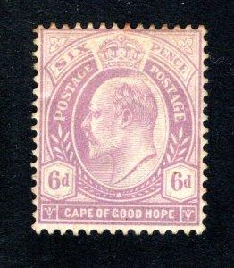 Cape of Good Hope Scott 69, F/VF, Unused, OG, CV $30.00 ..... 1190087