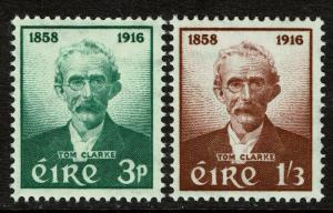 Ireland 165-66  MNH - Patriot Thomas Clarke - 1958