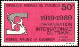 Cameroun #C133-C134, Complete Set(2), Never Hinged