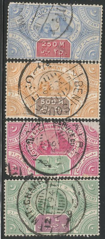 EGYPT REVENUES FAULTS 1893 L836
