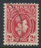 Nigeria  SG 52aab  SC# 56aab Perf 11½ Used 1950 Definitive please see scan