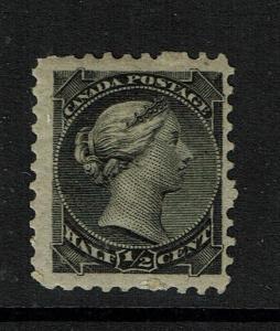 Canada SG# 102 - Mint Hinged / Light Hinge Rem / Grey Black - 091017