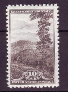 J4787 JLstamps 1934 usa mnh hv set 10c #749 national parks