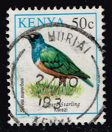 Kenya #594 Superb Starling; Used (0.25)