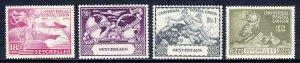 Seychelles - Scott #153-156 - MNH - SCV $3.25