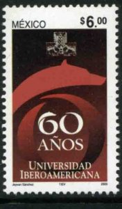MEXICO 2307, IBEROAMERICANA UNIVERSITY, 60t:h ANNIVERSARY. MINT, NH. VF.