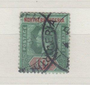Nigeria KGV 1914 10/- SG11 Fine Used J8428