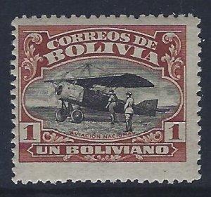 Bolivia, Scott #C5; 1b Aviation School, MNH