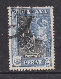 Malaya Perak 1957 Sc 134 50c Used