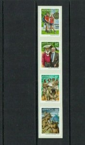 Australia: 2010 Kokoda, Joint issue with PNG,  self-adhesive strip,  MNH