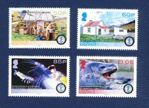 SOUTH GEORGIA - # 359-362 - MNH - International Polar Year - 2008
