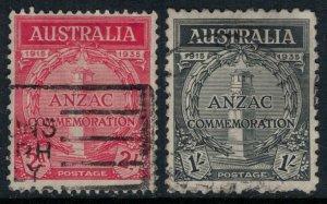 Australia #150-1  CV $45.50