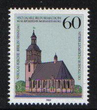 Germany  Berlin 1989  MNH  reformation complete