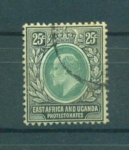 East Africa & Uganda Protectorate sc# 37 used cat val $8.50