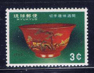 Ryukyu Is 112 MNH 1963 issue