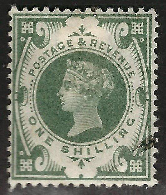 Great Britain #122 Used F-VF SC$65...Low start Bid!