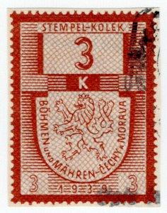(I.B) Czechoslovakia Revenue : Bohemia Duty 3k