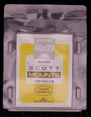 Scott Mounts Black 40/27, (pkg 40)(00911B)
