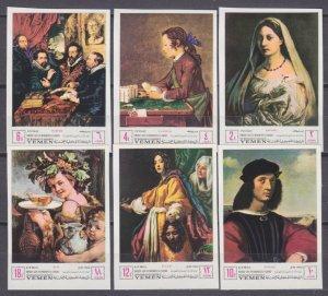 1968 Yemen Kingdom 503-508b Painting 15,00 €