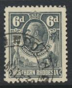 Northern Rhodesia  SG 7 SC# 7 Used  - see details