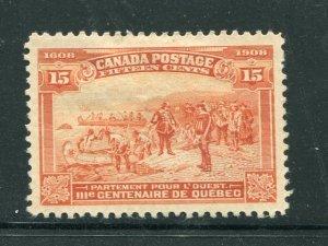 Canada  #102  XF    Unused     -   Lakeshore Philatelics