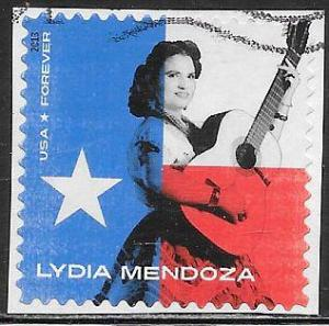 US 4786 used - Music Icons - Lydia Mendoza - Tejano Singer - On Paper