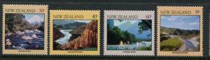 New Zealand #730-3 MNH