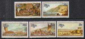 Niue 214-218 MNH VF