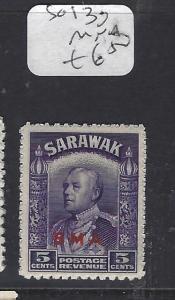 SARAWAK  (P1209B)  BROOKE   5C  BMA  SG 130      MNH