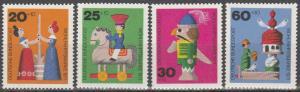 Germany #B476-9 MNH (K1753)