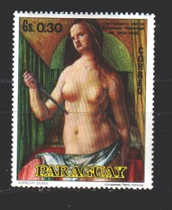 Paraguay. 1970. 2121 from the series. Painting, paintings. MNH.