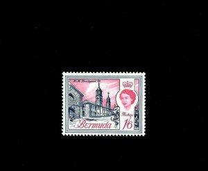 BERMUDA - 1966 - QE II - H. M. DOCKYARD - # 185A - MINT MNH SINGLE!