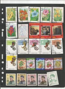 AFGHANISTAN COLLECTION ON STOCK SHEET, MINT/USED