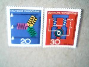 1966 Germany #965, #966 MNH Set of two