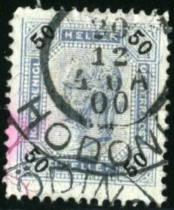 AUSTRIA - SC #81 - USED - 1899 - Austria162