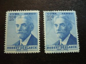 Stamps - Cuba - Scott# C148 - Mint Hinged & Used Airmail Stamps