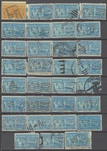 COLLECTION LOT # 2261 UNITED STATES 31 SPECIAL DELIVERY STAMPS 1944 CLEARANCE